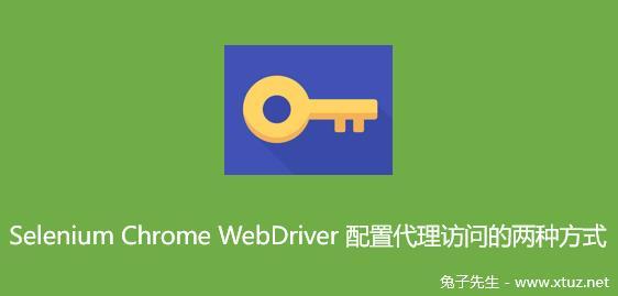 Selenium Chrome WebDriver配置代理访问的两种方式